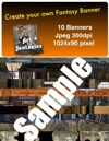 Fantasy Banners or Page Separators Volume 3 Castle/Rooms