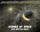 Scenes of Space Hex Battle Maps