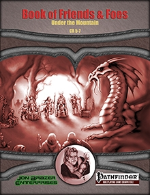 Book of Friends and Foes: Under the Mountain on RPGNow.com