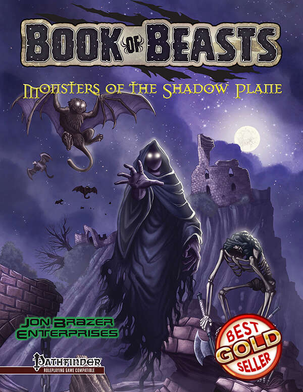 Book of Beasts: Monsters of the Shadow Plane on RPGNow.com
