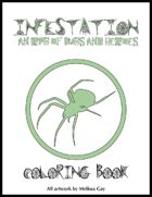 Infestation Coloring Book