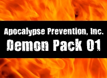 API Demon Pack 01 on DriveThruRPG.com