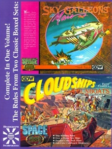 Sky Galleons of Mars/Cloudships and Gunboats on RPGNow.com