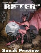 The Rifter® #60 Sneak Preview