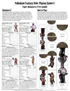 Palladium Fantasy RPG® Paper Miniatures Free Sample