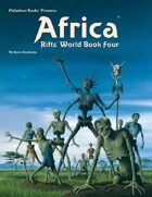 Rifts® World Book Four: Africa™ - Kevin Long Cover