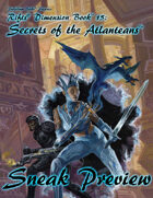 Rifts® Secrets of the Atlanteans Sneak Preview