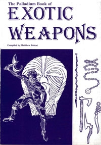The Palladium Book of Exotic Weapons on DriveThruRPG.com