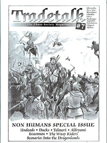 Tradetalk # 7 - Non Humans Special Issue on DriveThruRPG.com