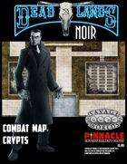Deadlands Noir Combat Maps: Crypts