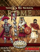 Weird Wars Rome: Heroes of Rome Figure Flats