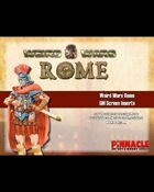 Weird Wars Rome: GM Screen Inserts