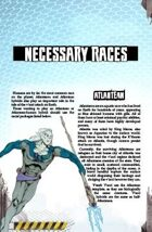 Necessary Evil: Necessary Races