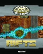 Savage Rifts: Wasteland Combat Map