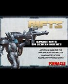 Savage Rifts: Customizable Game Master's Screen (SWADE Edition)
