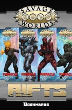 Savage Rifts: Bookmarks