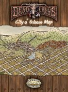 Deadlands Reloaded: City o' Gloom Poster Map