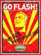 The Savage World of Flash Gordon: Propaganda Posters & Sign Up Sheets