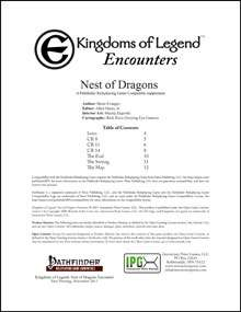 Kingdoms of Legend: Nest of Dragons Encounter on DriveThruRPG.com