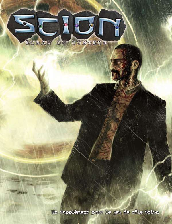 Scion : Écran du Conteur on DriveThruRPG.com