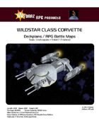 Wildstar Class Corvette/RPG Battle Maps