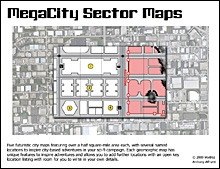 MegaCity Sector Maps on RPGNow.com