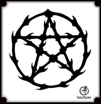 Bree Orlock Designs: Thorned Pentacle on DriveThruRPG.com