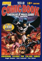 2010 Comic Book Checklist & Price Guide