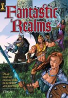 Fantastic Realms: Draw Fantasy Characters, Creatures and Settings