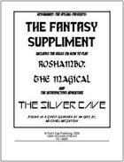 RoShamBo: The Fantasy Suppliment!