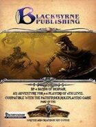 BP-4 Sands of Despair Pathfinder RPG
