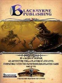 BP-4 Sands of Despair Pathfinder RPG on DriveThruRPG.com