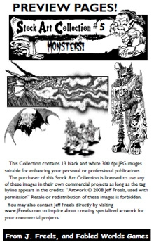 Stock Art Collection 5: Monsters! on RPGNow.com