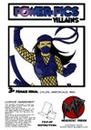 Power Pics Villains 3 -Female Ninja