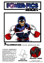 Power Pics Heroes 7 -All-American Male on RPGNow.com