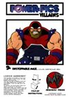 Power Pics Villains 9- Unstoppable Male