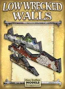 Low Wrecked Walls Paper Models