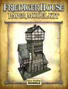 Friediger House Paper Model Kit