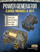 Power Generator Paper Model Kit