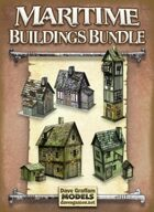 Maritime Buildings Bundle Paper Models
