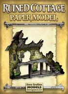 Ruined Cottage Paper Model