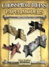 Crosspiece Ruins Set Paper Models