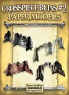 Crosspiece Ruins Set #2 Paper Models
