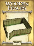 Wooden Fences Paper Models