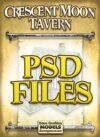 Crescent Moon Tavern PSD Files