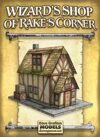 Wizard's Shop of Rake's Corner Paper Model
