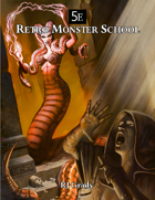 Retro Monster School (5E)