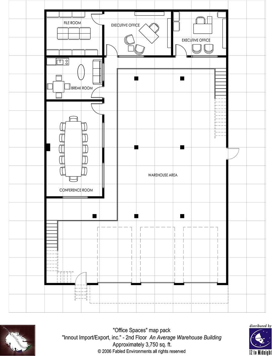 Modern Floorplans Two Story Warehouse Fabled