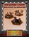 Infanty Units, Mech Attack 15mm Miniatures