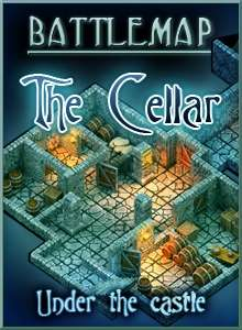 Battlemap - The Cellar on RPGNow.com